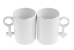 New Ceramic Couple Mug