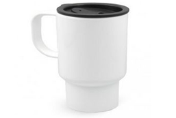 14oz Polymer Plastic Travel Mug