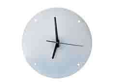 Round Crystal Wall Clock(30cm Diameter)