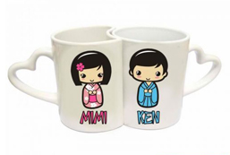 Ceramic Couple Mug