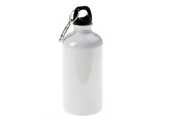 400ml/500ml/600ml White Aluminium Water Bottle